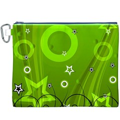 Art About Ball Abstract Colorful Canvas Cosmetic Bag (XXXL)