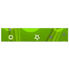 Art About Ball Abstract Colorful Flano Scarf (Small)