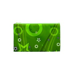 Art About Ball Abstract Colorful Cosmetic Bag (XS)