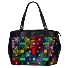 Art Rectangles Abstract Modern Art Office Handbags