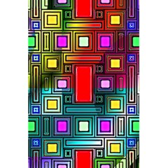 Art Rectangles Abstract Modern Art 5.5  x 8.5  Notebooks
