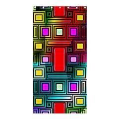 Art Rectangles Abstract Modern Art Shower Curtain 36  x 72  (Stall)