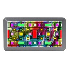 Art Rectangles Abstract Modern Art Memory Card Reader (Mini)