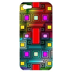 Art Rectangles Abstract Modern Art Apple iPhone 5 Hardshell Case