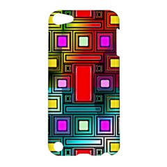 Art Rectangles Abstract Modern Art Apple iPod Touch 5 Hardshell Case