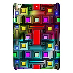 Art Rectangles Abstract Modern Art Apple iPad Mini Hardshell Case