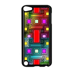 Art Rectangles Abstract Modern Art Apple iPod Touch 5 Case (Black)
