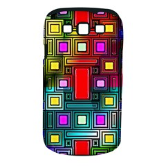 Art Rectangles Abstract Modern Art Samsung Galaxy S III Classic Hardshell Case (PC+Silicone)