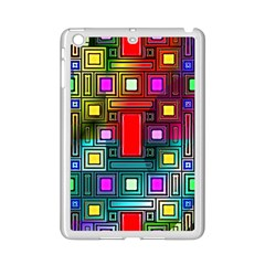 Art Rectangles Abstract Modern Art iPad Mini 2 Enamel Coated Cases
