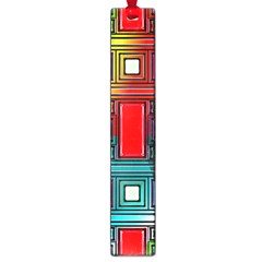 Art Rectangles Abstract Modern Art Large Book Marks