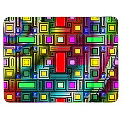 Art Rectangles Abstract Modern Art Samsung Galaxy Tab 7  P1000 Flip Case