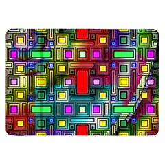Art Rectangles Abstract Modern Art Samsung Galaxy Tab 8.9  P7300 Flip Case