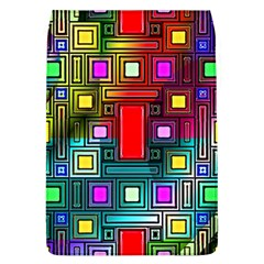 Art Rectangles Abstract Modern Art Flap Covers (L)