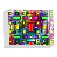 Art Rectangles Abstract Modern Art 5 x 7  Acrylic Photo Blocks