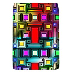 Art Rectangles Abstract Modern Art Flap Covers (S)