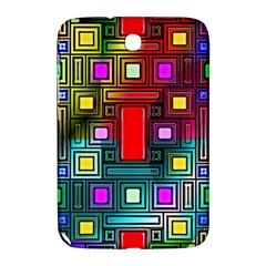 Art Rectangles Abstract Modern Art Samsung Galaxy Note 8.0 N5100 Hardshell Case