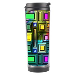 Art Rectangles Abstract Modern Art Travel Tumbler