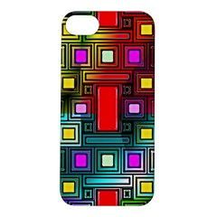 Art Rectangles Abstract Modern Art Apple iPhone 5S/ SE Hardshell Case