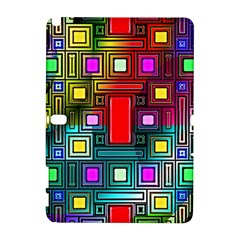 Art Rectangles Abstract Modern Art Galaxy Note 1