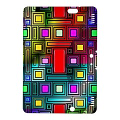Art Rectangles Abstract Modern Art Kindle Fire HDX 8.9  Hardshell Case