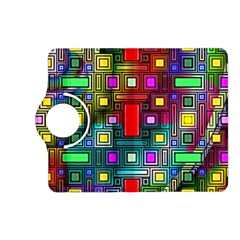 Art Rectangles Abstract Modern Art Kindle Fire HD (2013) Flip 360 Case