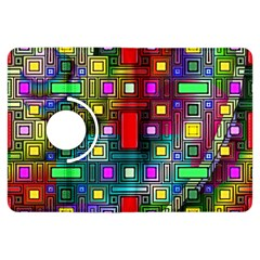 Art Rectangles Abstract Modern Art Kindle Fire HDX Flip 360 Case