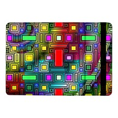 Art Rectangles Abstract Modern Art Samsung Galaxy Tab Pro 10.1  Flip Case
