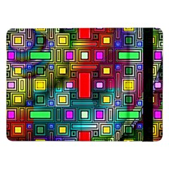Art Rectangles Abstract Modern Art Samsung Galaxy Tab Pro 12.2  Flip Case
