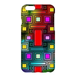 Art Rectangles Abstract Modern Art Apple iPhone 6 Plus/6S Plus Hardshell Case