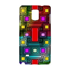 Art Rectangles Abstract Modern Art Samsung Galaxy Note 4 Hardshell Case