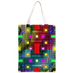 Art Rectangles Abstract Modern Art Classic Light Tote Bag