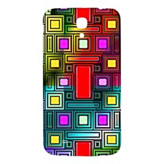Art Rectangles Abstract Modern Art Samsung Galaxy Mega I9200 Hardshell Back Case