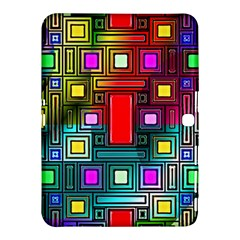 Art Rectangles Abstract Modern Art Samsung Galaxy Tab 4 (10.1 ) Hardshell Case