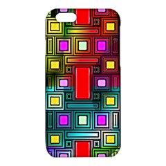 Art Rectangles Abstract Modern Art iPhone 6/6S TPU Case