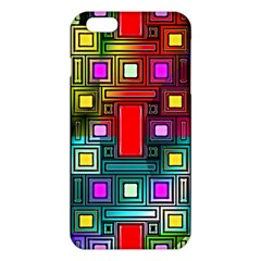 Art Rectangles Abstract Modern Art iPhone 6 Plus/6S Plus TPU Case