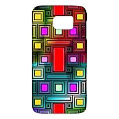 Art Rectangles Abstract Modern Art Galaxy S6