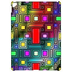 Art Rectangles Abstract Modern Art Apple iPad Pro 12.9   Hardshell Case