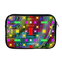 Art Rectangles Abstract Modern Art Apple MacBook Pro 17  Zipper Case