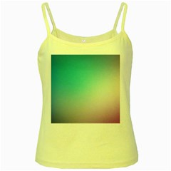 Background Blurry Template Pattern Yellow Spaghetti Tank