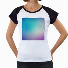 Background Blurry Template Pattern Women s Cap Sleeve T