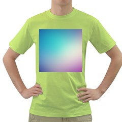 Background Blurry Template Pattern Green T-Shirt