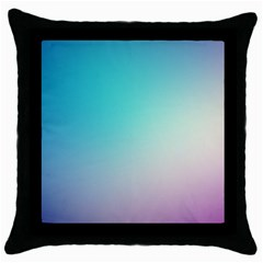 Background Blurry Template Pattern Throw Pillow Case (Black)