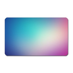 Background Blurry Template Pattern Magnet (Rectangular)