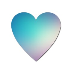 Background Blurry Template Pattern Heart Magnet
