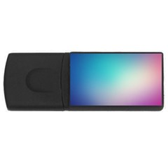 Background Blurry Template Pattern USB Flash Drive Rectangular (1 GB)
