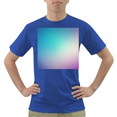 Background Blurry Template Pattern Dark T-Shirt