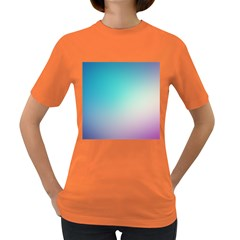 Background Blurry Template Pattern Women s Dark T-Shirt