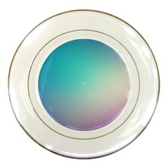 Background Blurry Template Pattern Porcelain Plates
