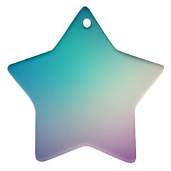 Background Blurry Template Pattern Star Ornament (Two Sides)