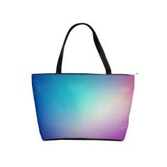 Background Blurry Template Pattern Shoulder Handbags